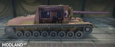 "SU-100Y Skin ""PKP ICC"" (Train) 1.0.2.4++ [1.0.2.4], 2 photo"